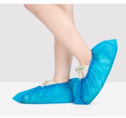 Fabricante grossista à prova de protecções para sapatos de pé não tecidos descartáveis protecções anti-deslizante