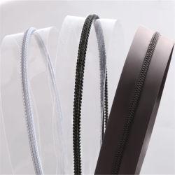 Hot Sale 3 n° 5# PVC/PG/EVA transparent pour les vêtements/sacs à fermeture éclair/tente d'usine en provenance de Chine