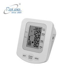 Maschinen-große Hintergrundbeleuchtung-Bildschirmanzeige-intelligente Sprachautomatischer Digital-Arm-Blutdruck-Monitor der Herzschlag-Stulpe-BP