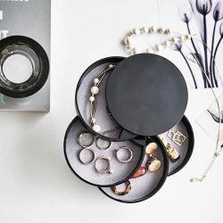 2020 [نورديك] مكتب متعدّد طبقات تخزين مجوهرات يعبّئ صندوق سفر عقد حل مجوهرات منظّم