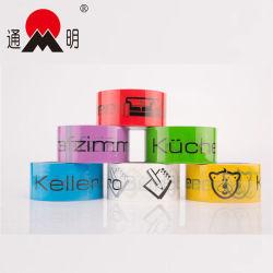 BOPP fitas de embalagem impresso a fita de vedação encolher BOPP, Fita Adesiva