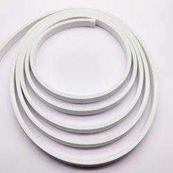 12V souple en silicone ignifugé bande de lumière LED lampe de gel de silice Soft Tube néon 6*12mm Bande lumineuse à LED de corde