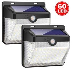 Decorativa de nuevo el ahorro de energía Solar Power LED de diamante con 60 LED PC