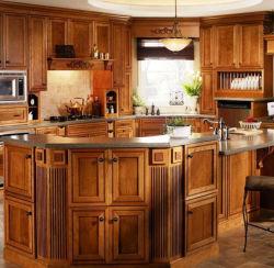 Armarios de cocina para microondas Simple de vidrio de la luz de Gabinete de cocina