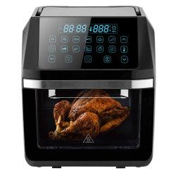 Digital Control nieuw ontwerp 1800 W 12L capaciteit luchtfryer oven Met LCD-menudisplay