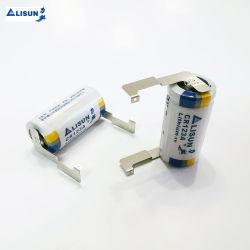 IoT, 원격 장치, 보안 제품 미터용 리튬 배터리 6V, 3V, 3.6V 비충전식 원통형 및 버튼 배터리 Cr2450 Cr123A Er14250 CR-P2