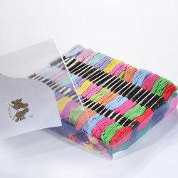 100pcs Floss madejas hilo de algodón de Cruz