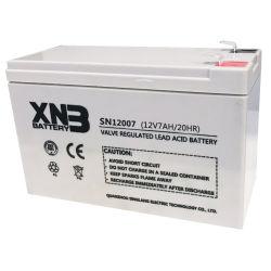 Étanche au plomb acide batterie UPS 12V4AH/12V7AH/7.2Ah/7.5Ah/9ah stockage Rechargeable Batterie 12V pour système de sécurité/UPS/Jump Start/éclairage de secours