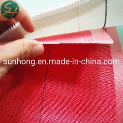 Polyester-rote Farben-flaches Garn-Trockner-Gewebe für Papiermaschine