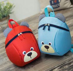 만화 동물 디자인 키즈 스쿨 플러시 백팩 어린이 가방 패션 Anti Lost 스트랩 백팩 도매 곰을 가지고