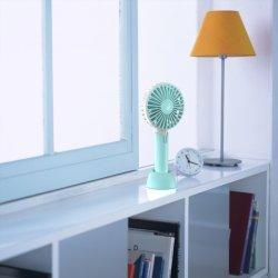 720 de roterende Ventilator Met geringe geluidssterkte van de Desktop van de Omwenteling 3speeds van de Vakantie USB van de Schok van de Gift van de Bevordering Hoofd Draagbare Openlucht Handbediende Koel Handbediende
