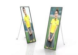 """Display pubblicitario schermi LCD portatili 68"""" LCD ad Player digitale Poster"""
