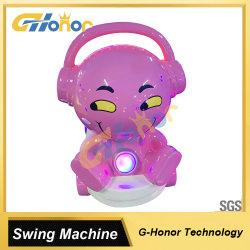Cute Design Simulateur de jeu de course arcade vidéo Swing Machine de jeu de voiture Arcade Wag Machine de jeu Coin exploité Kids Swing Machine Machine de jeu vidéo pour les enfants