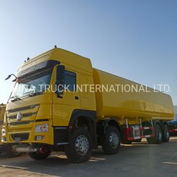 Sinotruck HOWO 8X4 371HP 40000L 연료 탱크 트럭