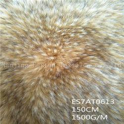 Het lange Bont Es7at0613 van de Wasbeer van Faux van de Stapel