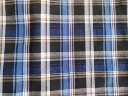 도매 소프트 원사 염색 격자무늬 셔츠 우븐 셔츠