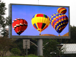 Hohe Helligkeit P6 im Freien wasserdichte farbenreiche LED-Bildschirmanzeige mit hohem Schutz-Grad