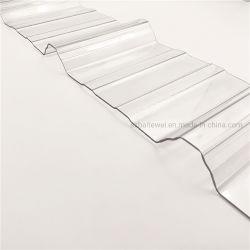 Из переработанного пластика из поликарбоната 0.8-3мм PC удалите пластиковый лист из гофрированного картона