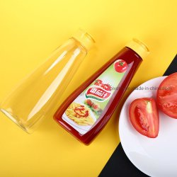 500ml botella de salsa con la Comida de plástico para embalajes de Ketchup grado