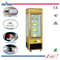 Kuchen-Kühlraum-Schaukasten-Gefriermaschine-Kühlraum-Kühlraum-Kuchen-Verkaufsmöbel mit Umdrehungs-Regal