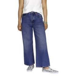 Lady' S Sky High Wide-Leg Jeans