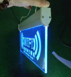 Sinal de acrílico transparente Recreio Bloco do logotipo da marca