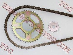 Kit stabilito della ruota dentata Chain della trasmissione della ruota dentata e della catena per la stella delle TV