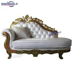 Accent Royal Golden Luxury High Back Wedding Salon Throne King Sofa stoel