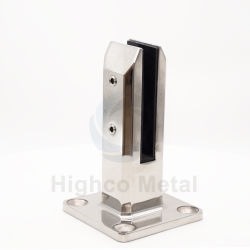 Acero inoxidable de alta calidad 304 316 2205 Pitón de esgrima de vidrio