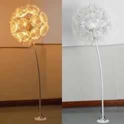Dandelion luz LED fontes comerciais impermeável ao ar livre das luzes de decoração de flores de Fibra Óptica Dandelion Lamp