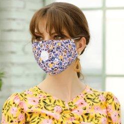 Katoenen van het anti-Stof van het Af:drukken Pm2.5 van vrouwen het Bloemen Beschermende Masker van het Gezicht