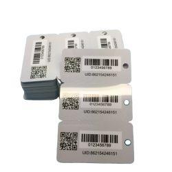 Logo personnalisé en PVC d'impression de codes à barres sans contact 3 en 1 Balise clé combo de cartes en plastique pour la gestion des VIP