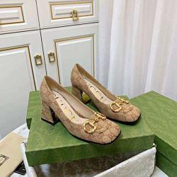 Dames Lady Women AAA Replica PU / Real Leather Hotsale Slipperschoenen voor de dinertas