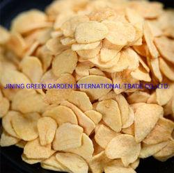 Ajo frito, Especias fritas Natural Chino producción de Ajo Gránulos/pasteles con sabor crujiente, Corte de Ajo de calidad superior.