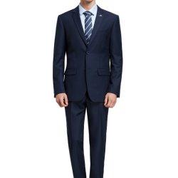 Comercio al por mayor de los hombres traje hecho personalizado diseño formal Traje dos botones