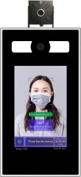 Temperature-Measuring Face Recognition вывод продукта