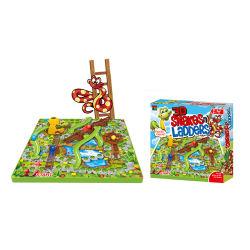 子供のための情報処理機能をもったおもちゃ3Dのヘビそして梯子のボードゲームのチェスのこまセット