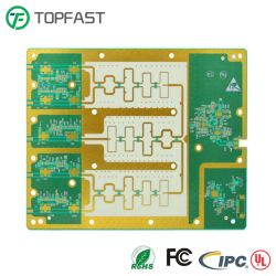 SMT ISO 5g 어미판을%s 가진 고주파 PCB 널 인쇄 회로 기판 장님 그리고 매장된 PCB