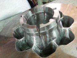 Perfil de aluminio de extrusión de hueco superior