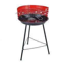 Дешевые 36см портативный круглый открытый гриль барбекю с активированным углем плита барбекю на балкон