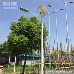 Bon marché en plein air solaire LED la rue/route/Jardin Lampe avec le capteur de mouvement 30W 40W 50W 60W Lumière