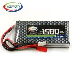 RC Car Lipo аккумулятор 2s 3s 7,4 В / 11,1 V / 14,8 V 1500Мач 35c Xt90 / Xt60/ T разъем для RC самолет Traxxas Car RC погрузчика