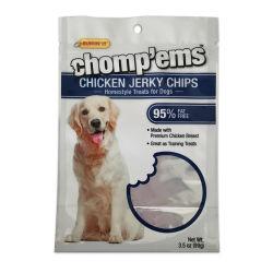 Pet/PE lamellierter Film-Fastfood- Beutel-Paket-Beutel mit zurückführbarem Reißverschluss für Nahrung für Haustiere