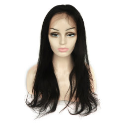 Virgin cheveux chinois Full Lace Wig en stock