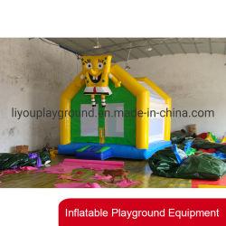 Hindernis-Kurs-aufblasbares Plättchen-aufblasbares Spielzeug für im FreienVergnügungspark