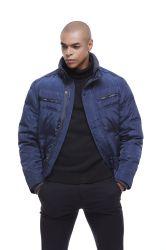 남성용 트렌드 패션 슬림 핏 윈터 웜다운 남성용 재킷 코트