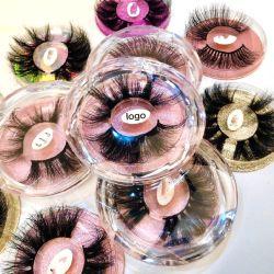 Nuevos estilos Fake Lashes Mink 3D Lashes sintéticos Pestañas pestañas de seda