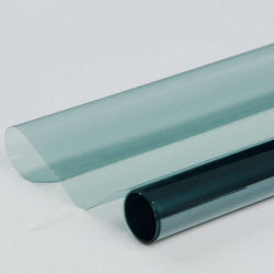 밝은 파란색 높은 IR 거절 차 창 침을 튀기기 담채 필름