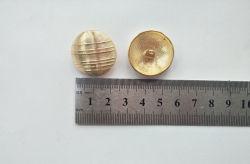 Accessoire de vêtements mode bouton doré de métal Vgt6605