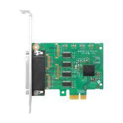 Linkreal 4 PortPCI Express RS232 Serienadapter-Karte - einbahniges PCI Express - Ausbruch-Kabel - Extension RS232 - Pcie Serienkarte